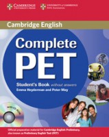 Complete PET the First Edition